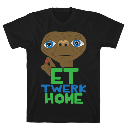 ET Twerk Home Mens T-Shirt