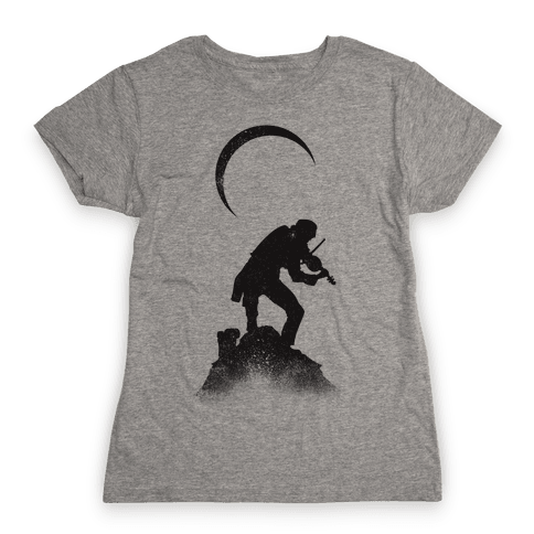 The Fiddler Womens T-Shirt