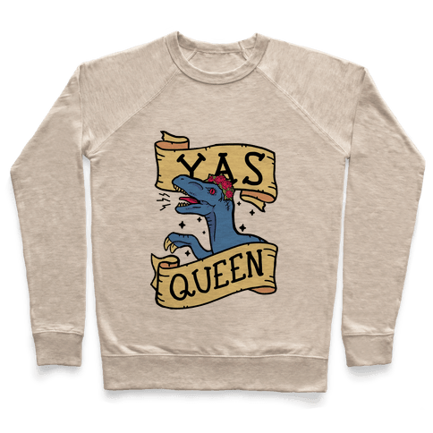 Yas Queen Raptor Pullover