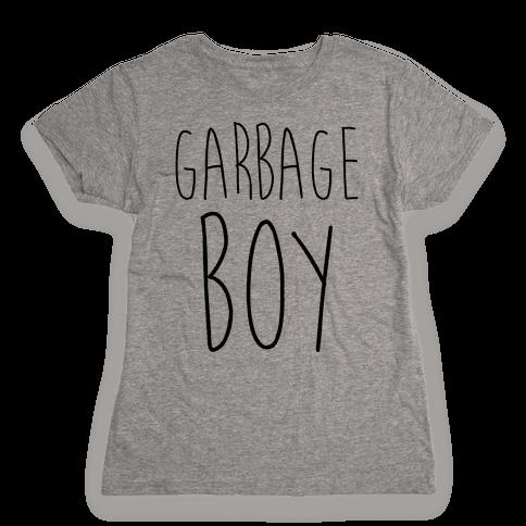 Garbage Boy Womens T-Shirt