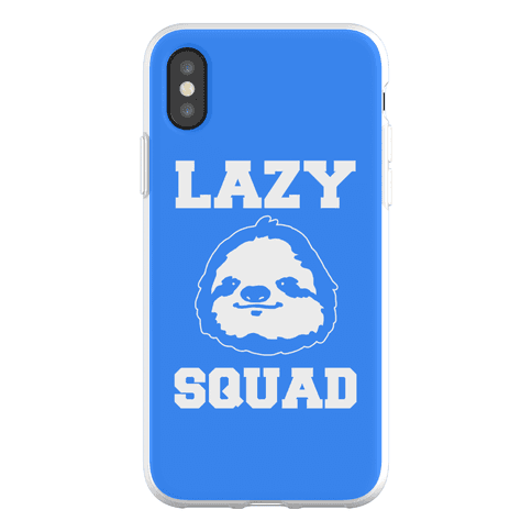 Lazy Squad Phone Flexi-Case