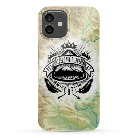 Triple Crown Hiking Trail Crest Phone Case