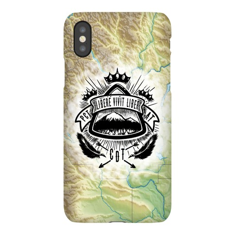 Triple Crown Hiking Trail Crest Phone Case
