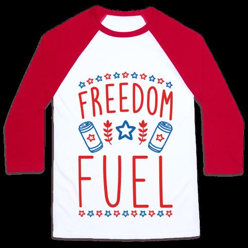 Freedom Fuel Baseball Tee