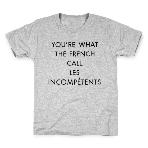 Les Incompetents Kids T-Shirt