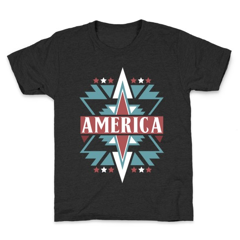 American Pattern Kids T-Shirt