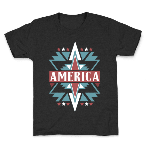 American Pattern Kids T-Shirt