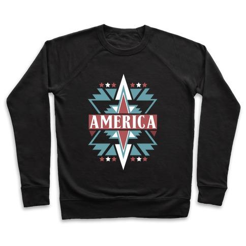 American Pattern Pullover