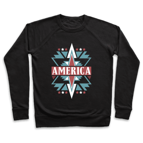 American Pattern Pullover