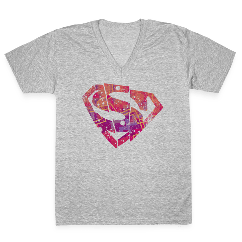 Super S V-Neck Tee Shirt
