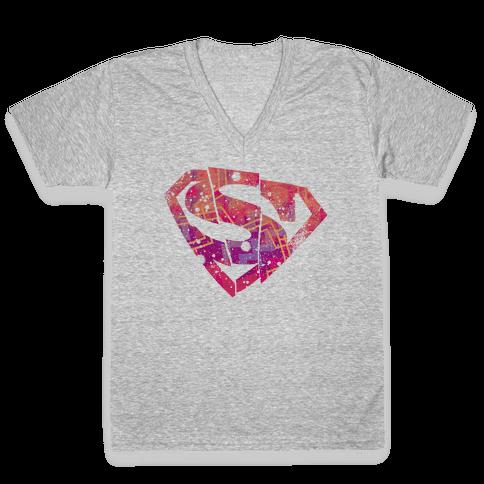 Super S V-Neck Tee Shirt
