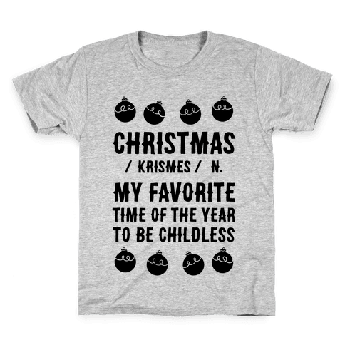 Christmas Definition Kids T-Shirt