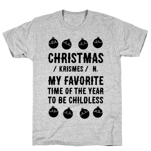Christmas Definition Mens T-Shirt