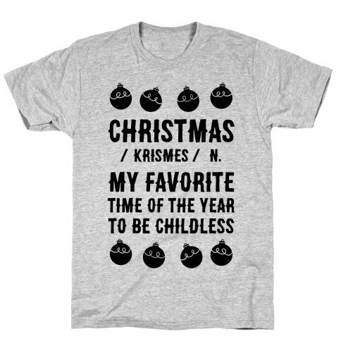 Christmas Definition T-Shirt