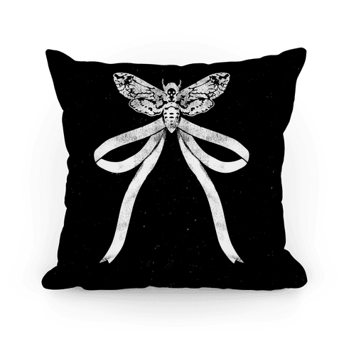 Moth Bow Pillow
