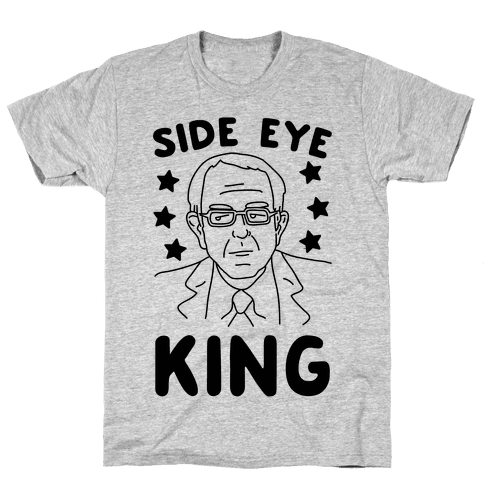 Side Eye King Mens T-Shirt