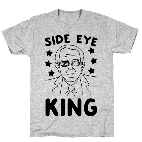 Side Eye King Mens T-Shirt