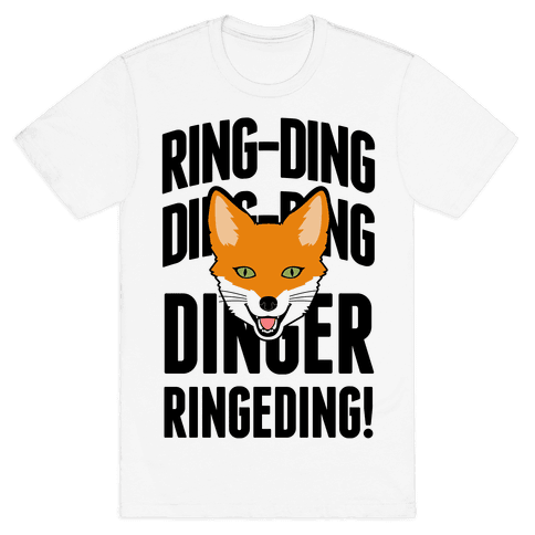 Ding Ding Fox Call Mens T-Shirt