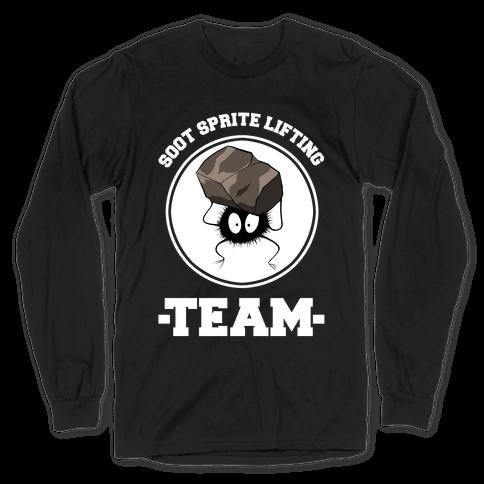 Soot Sprite Lifting Team Long Sleeve T-Shirt