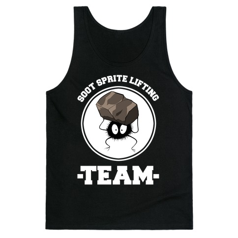 Soot Sprite Lifting Team Tank Top
