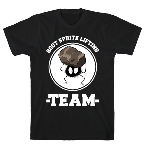 Soot Sprite Lifting Team T-Shirt