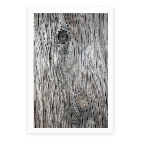 Wood Grain Poster