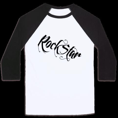 RockStar Baseball Tee