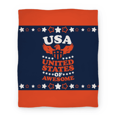United States of Awesome Blanket