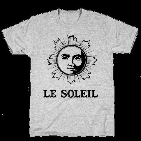Le Soleil Mens T-Shirt