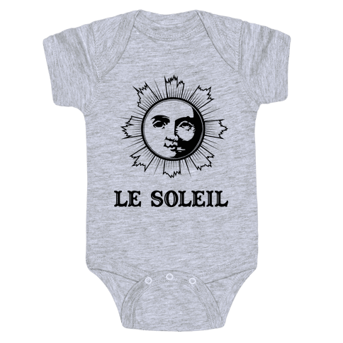 Le Soleil Baby Onesy