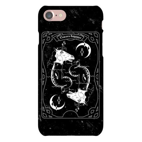 Unicorn Imposter Tarot Phone Case