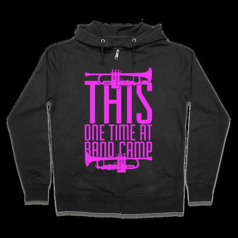 Band Camp Zip Hoodie