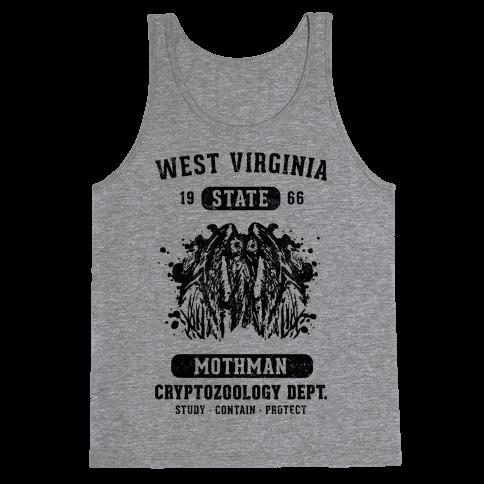 West Virginia Mothman Cryptozoology Tank Top