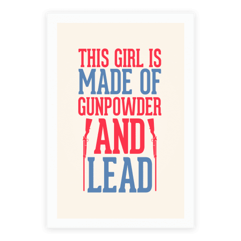 Gunpowder & Lead Poster