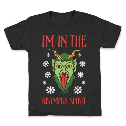 I'm In The Krampus Spirit Kids T-Shirt