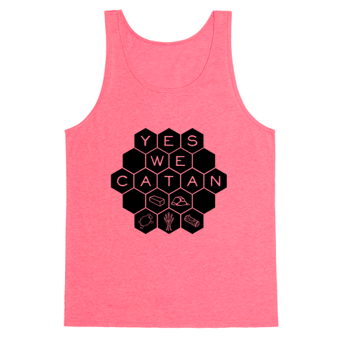Yes We Catan Tank Top