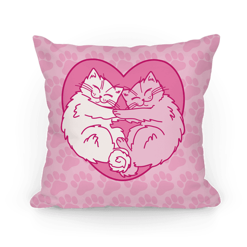 Love Kittens Pillow