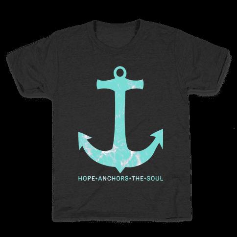 Hope Anchors The Soul Kids T-Shirt