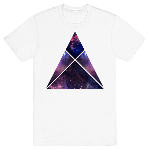 Galaxy Sign Mens T-Shirt