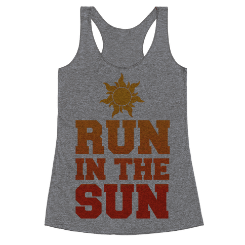 Run In The Sun Racerback Tank Top