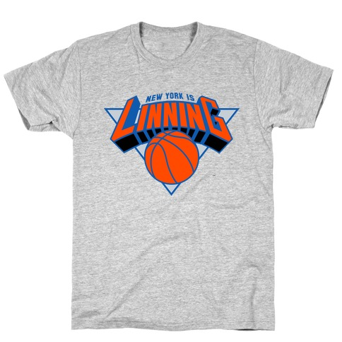 For The Lin blue T-Shirt