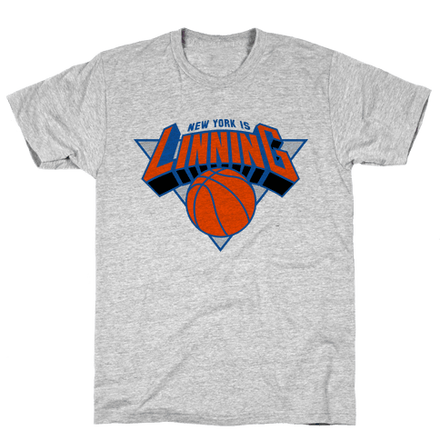 For The Lin blue Mens T-Shirt