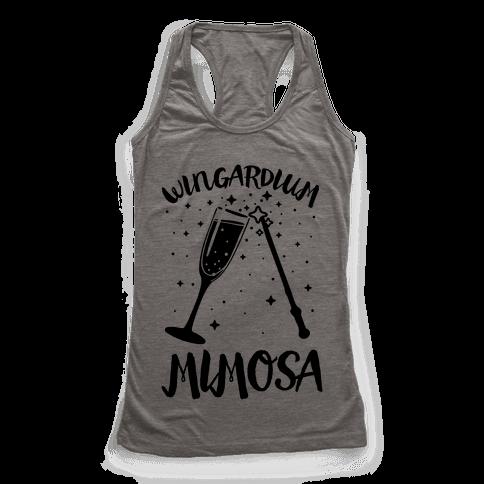 Wingardium Mimosa Racerback Tank Top