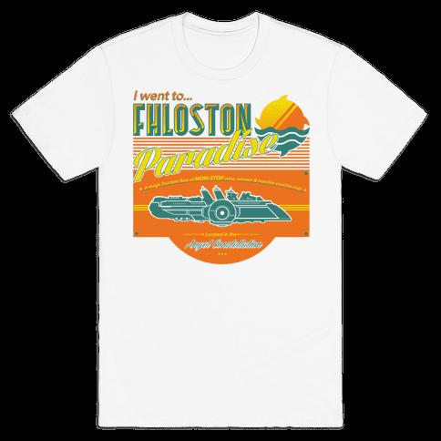 Fhloston Paradise Mens T-Shirt