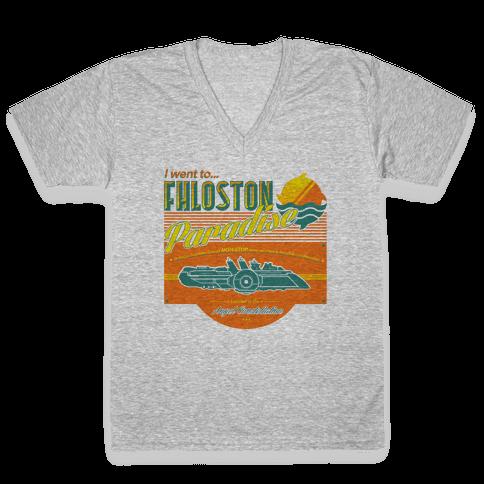 Fhloston Paradise V-Neck Tee Shirt
