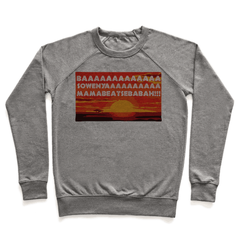 LION KING OPENING SONG (TANK) Pullover