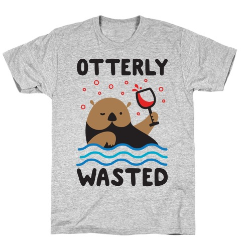 Otterly Wasted Mens T-Shirt
