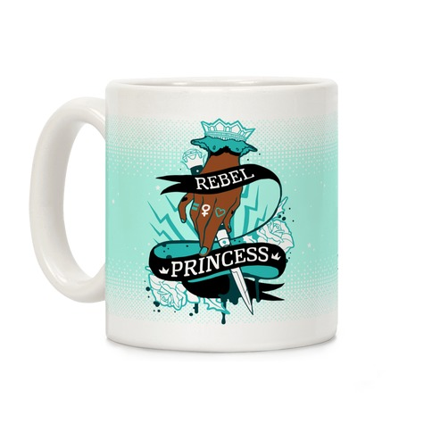 Rebel Princess Coffee Mug