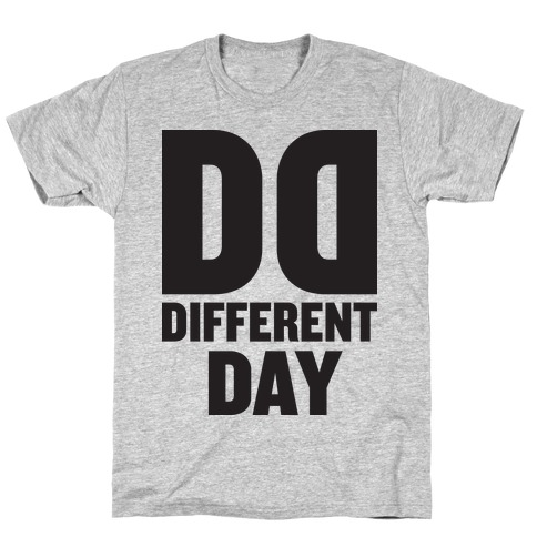 BFF Different Day (Tank) T-Shirt