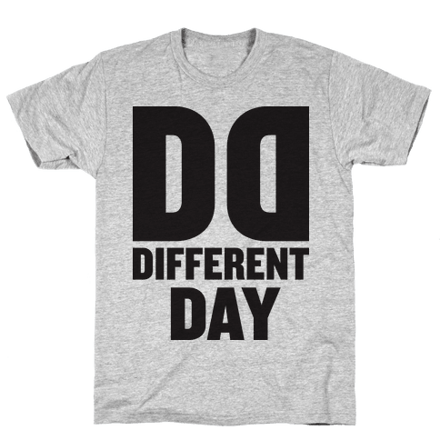 BFF Different Day (Tank) Mens T-Shirt